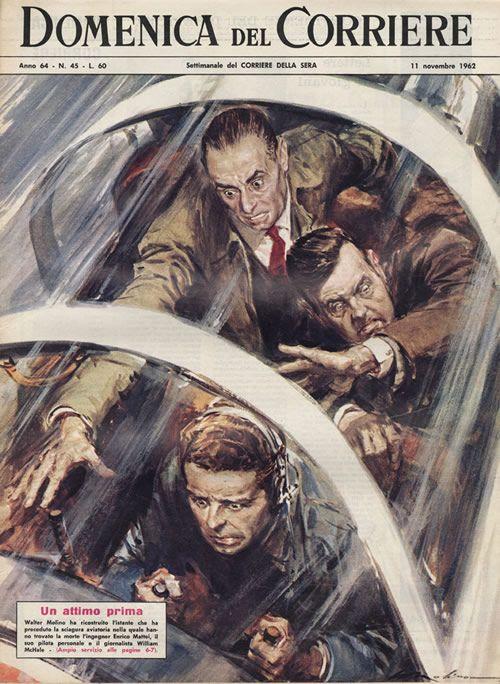 Domenica Del Corriere, November 1962 (Cover illustration by Walter Molino)