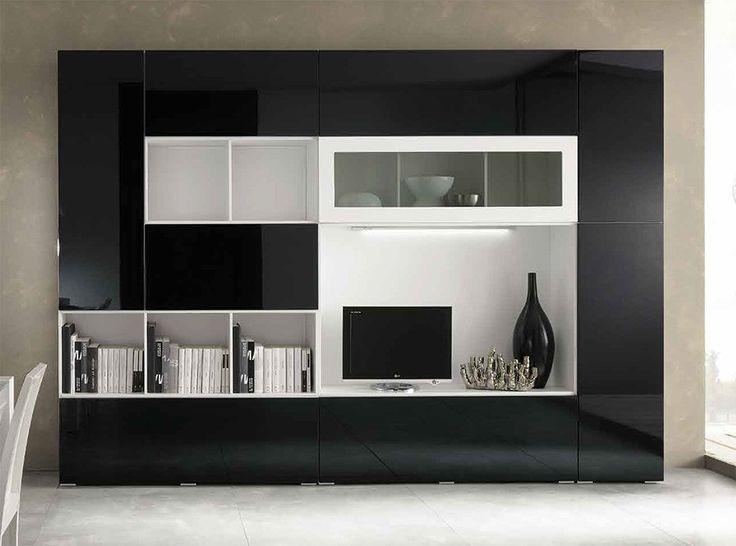 Modern Wall Unit Kubo 11 by Artigian Mobili Italy - $4,529.00