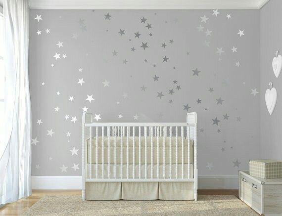 Starry decals