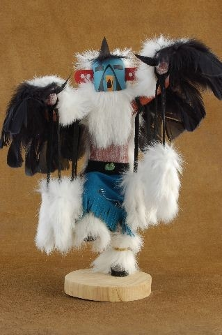 Navajo Eagle Kachina Doll   almost like the one I have