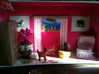 17 Best Shoe Box Doll House Images On Pinterest Shoe Box Box