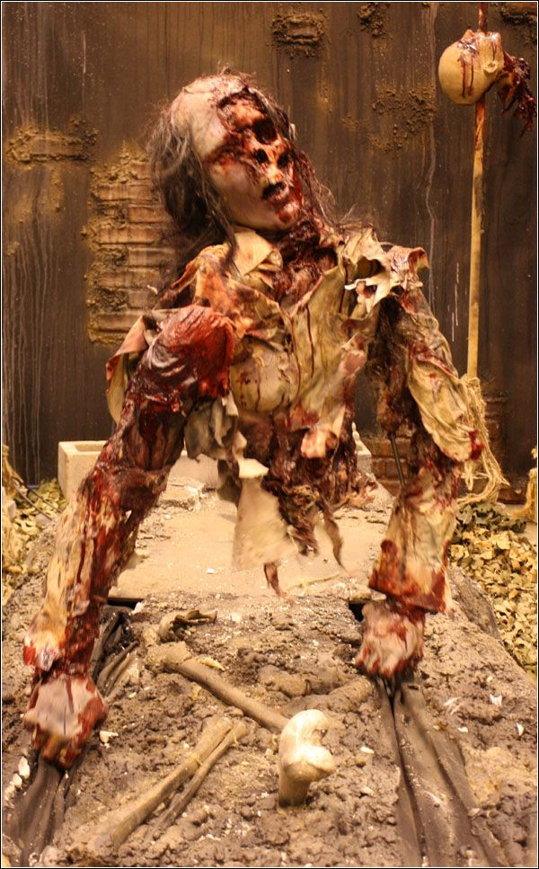 Horror Dome's zombie hand walker .
