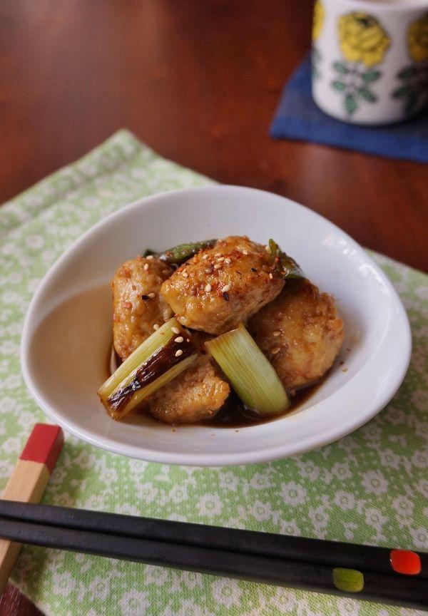 鶏団子と長ネギのピリ辛てりやき by midori | レシピサイト「Nadia ...