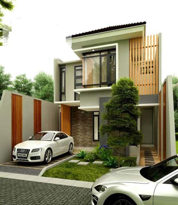 Two Story Narrow Lot House Plan Ideas Narrow Lot House Plans House Front Design Narrow Lot House