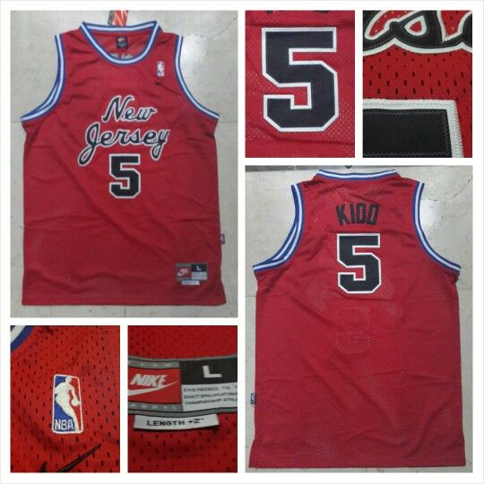 READY STOCK ! READY STOCK!!  JERSEY BASKETBALL NBA NEW JERSEY JASON KIDD #5 SWINGMAN REVO30 FOR SALE  INTERESTED?  FOLLOW US @KORIONZ  CONTACT US! BB 28BCBB04 LINE LEONARDUSMARVIN WHATSAPP +62-838-7033-0922