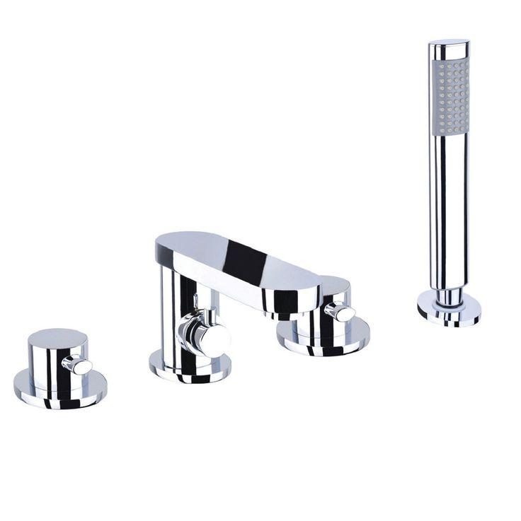 Iye 4 Tap Hole Bath Shower Mixer Taps