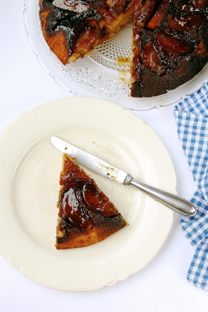 Delicia de Torta Invertida de Manzanas con aroma a Sidra y caramelo. Se puede usar otras frutas. Todos los tips y consejos!