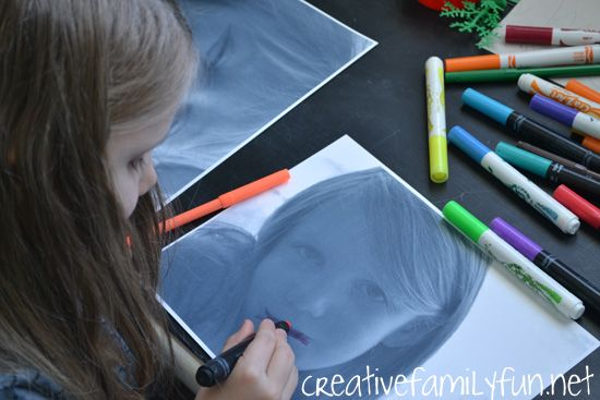 Becoming Warhol ~ Kids Art Activity inspired by Andy Warhol ~ Creative Family…