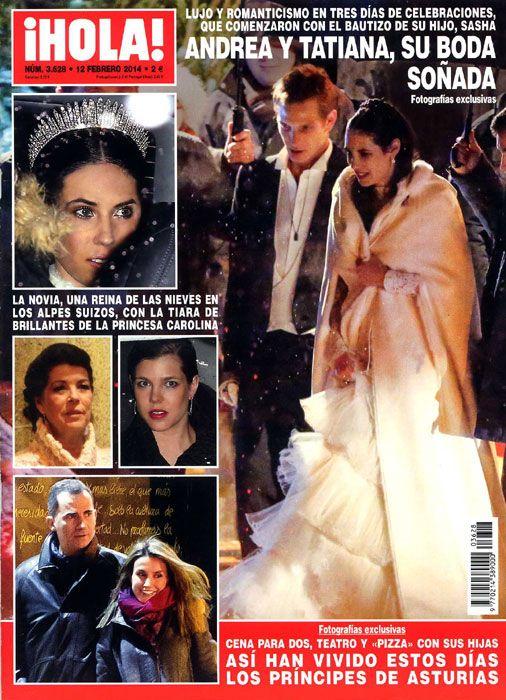 La revista ¡HOLA! publica la mejor información y fotografías exclusivas de la boda soñada de Andrea Casiraghi y Tatiana Santo Domingo en los...