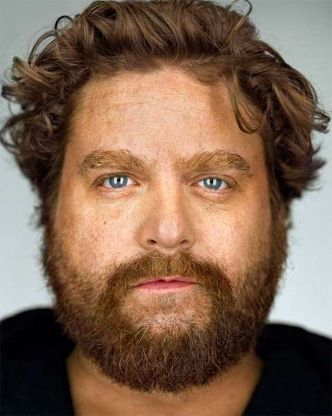 Zach Galifianakis -- Hot in the weirdest frikken way.