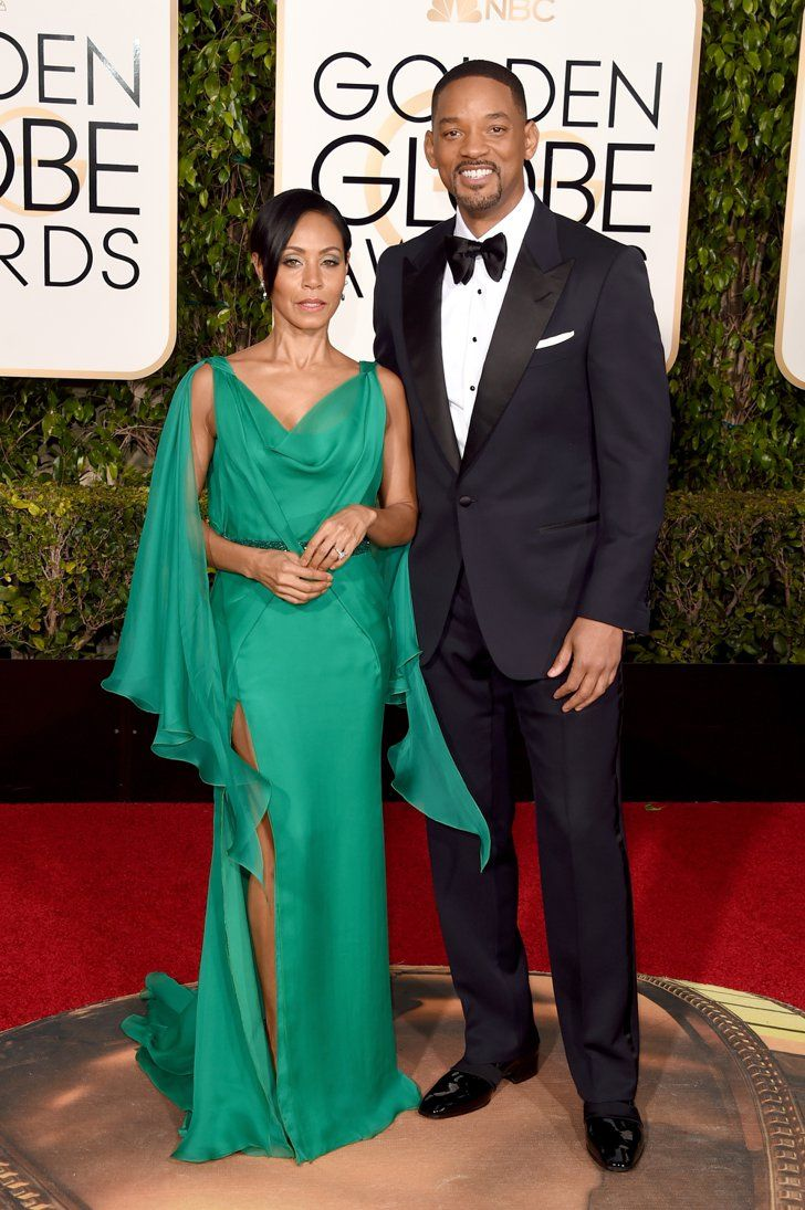 Pin for Later: Ces Couples de Célébrités Étaient Superbes Lors des Golden Globe Awards Jada Pinkett Smith et Will Smith