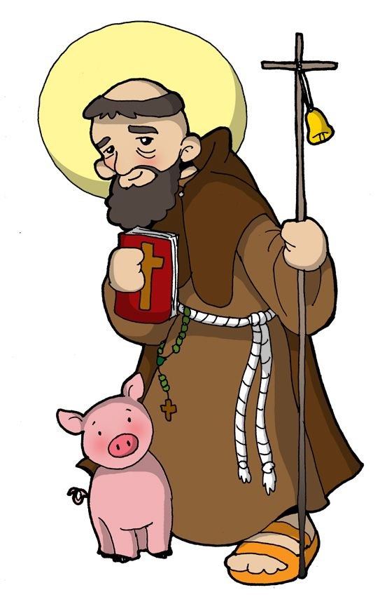 Fiesta: 17 enero             Antonio nació en un pueblo del Alto Egipto, alrededor del año 251. Más o menos a los veinte años de edad, conmo...