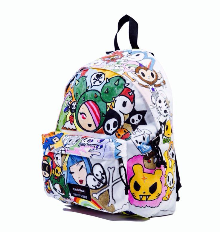 Backpack #eastpack firmato #simonelegno