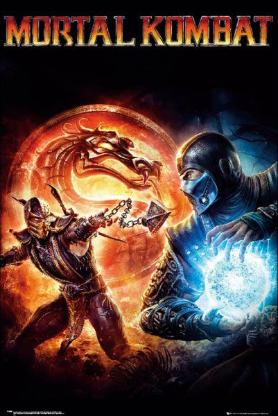 Póster Mortal kombat  Los guerreros más poderosos de la tierra: Liu Kang, Sonya Blade, Jax Briggs y Lord Raiden, deben enfrentarse a las fuerzas del mal para evitar la destrucción de la tierra.