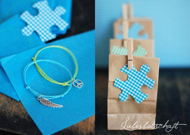 cute little handmade bracelets, nicely packaged
