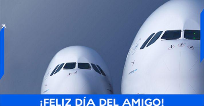 ¡Festeja el Día del Amigo con Air France! Participa para ganar uno de los tres premios disponibles. Son regalos perfectos para ti y tu amigo. #SantiagoElegante_Airfrance #SantiagoElegante #SantiagoElegante_KLM #ViajesyTurismo   #Vitacura