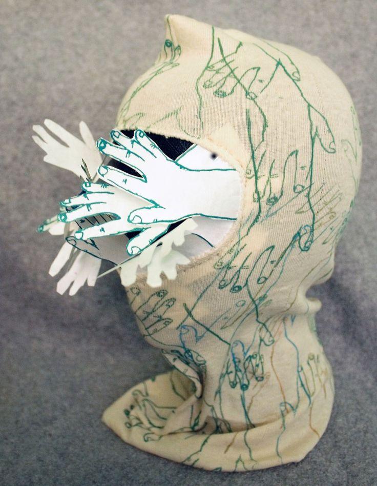 Touching Feeling (for Lygia Clark), 2009, Monoprint on Cotton