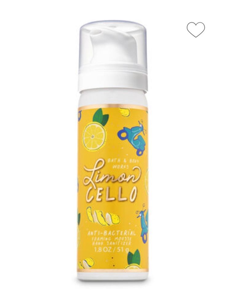 Limoncello Foaming Hand Sanitizer Bath Body Works Hand