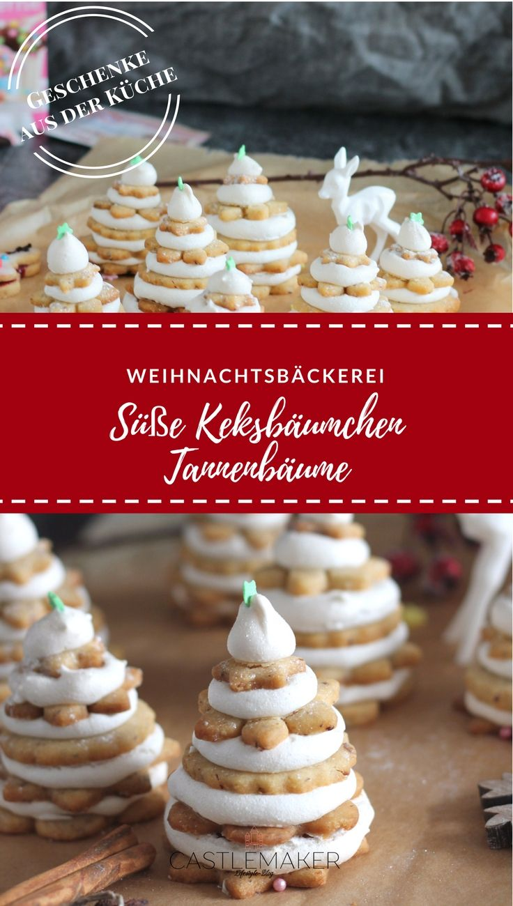 Kommt in meinen kleinen Tannenwald aus leckeren Plätzchen. Das Rezept für die süßen Keksbäumchen findet Ihr auf meinem Blog. ANZEIGE #weihnachtsbäckerei  #plätzchen #christmascookies