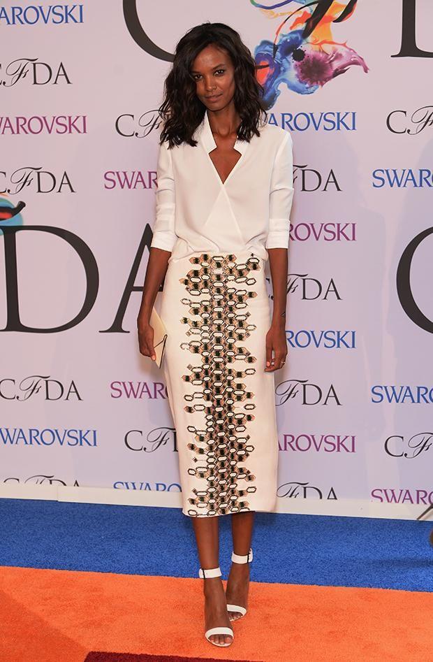 Liya Kebede wears Wes Gordon At The CFDA Awards: A Red Carpet Exegesis - Pedestrian TV