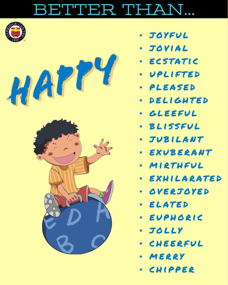 sophisticated synonyms for happy