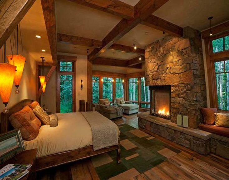Rustic Bedroom Ideas Bedrooms Pinterest Master