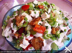 Dönersalat - Kebab-Salad...missing my German food!