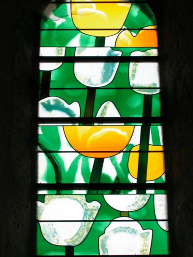 Le vitrail miroir m tamorphique par chagall soulages for Miroir vitrail modeles