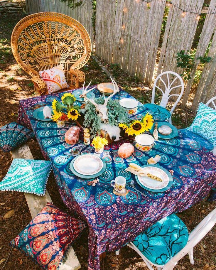 Die besten 25+ Bohemian porch Ideen auf Pinterest Café im freien - wohnideen selbermachen jahrgang