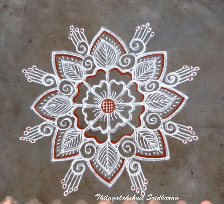 17 best images about alpana design on pinterest indian for Floor rangoli design