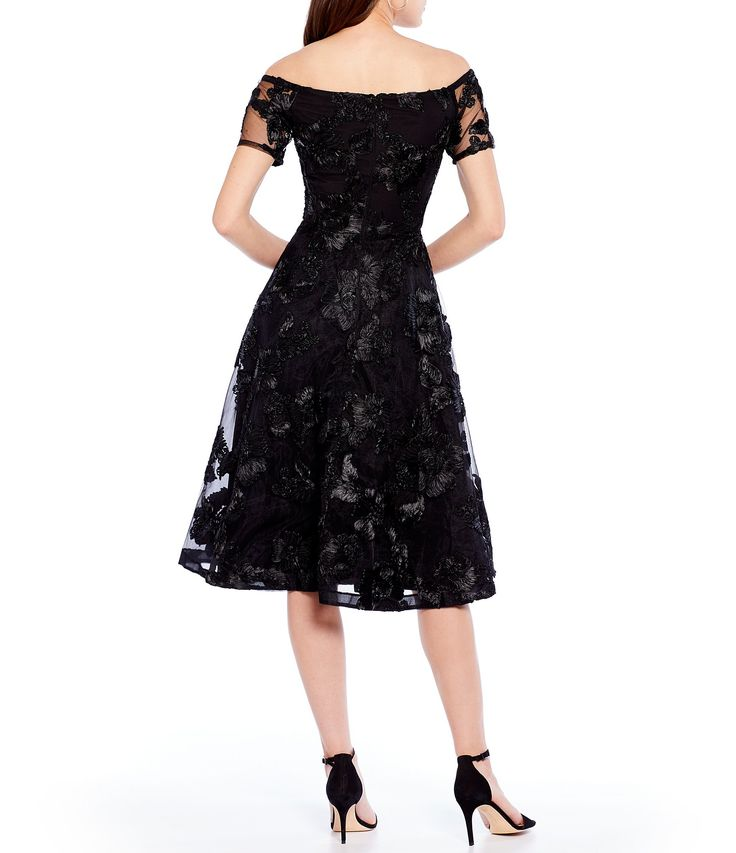 Shop for Antonio Melani Hari Embroidered Lace Mesh Off The Shoulder Fit and Flare Dress at Dillards.com. Visit Dillards.com to find clothing, accessories, shoes, cosmetics & more. The Style of Your Life.