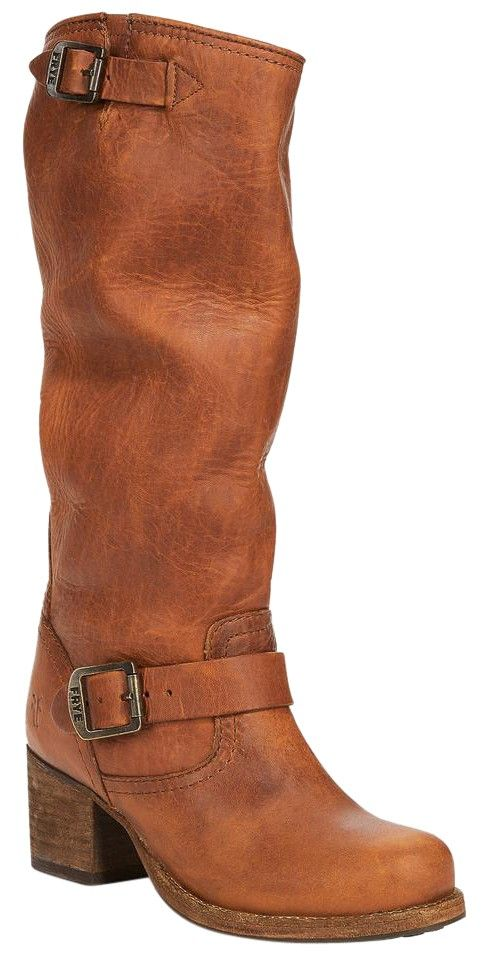 Frye Vera Slouch Block-heel Tall Cognac Boots. Get the must-have boots of this season! These Frye Vera Slouch Block-heel Tall Cognac Boots are a top 10 member favorite on Tradesy. Save on yours before they're sold out!