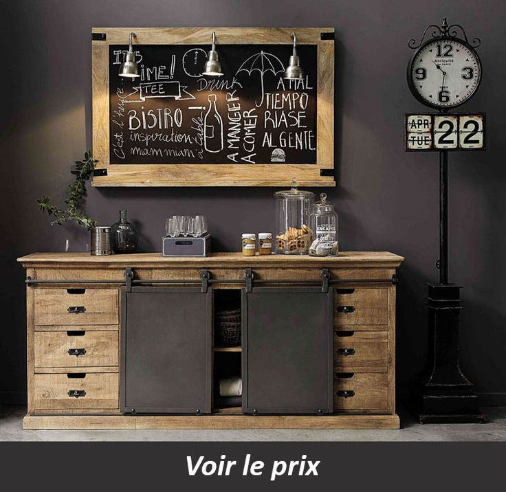 13 best Intérieur industriel images on Pinterest Industrial - klapptisch f r k che
