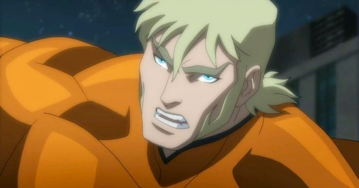 'Justice League: Throne of Atlantis' Clip Has Aquaman in a Fight -- Matt Lanter's Arthur Curry gets in a bar fight over a lobster in this scene from 'Justice League: Throne of Atlantis' that debuted at NYCC. -- http://www.movieweb.com/justice-league-throne-atlantis-clip