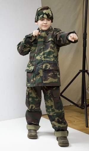 Камуфляжные костюмы для мальчиков