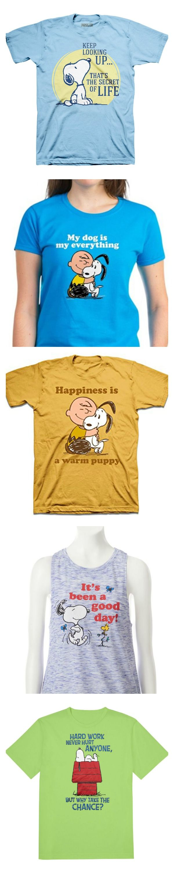 Gear up for Summer with a new Snoopy shirt! Shop our round-up of Peanuts shirts available at variety of online stores. Start shopping via CollectPeanuts.com.