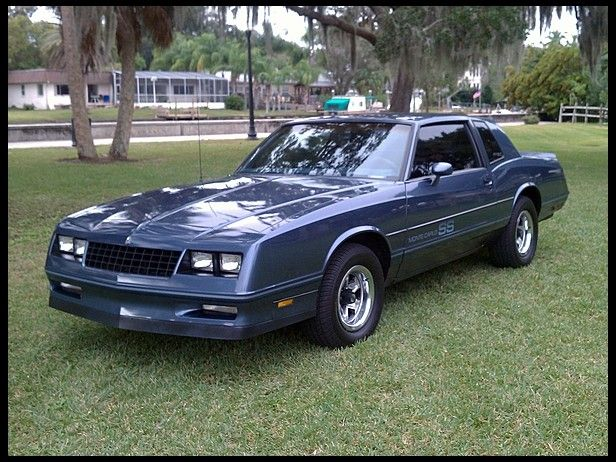 1984 Chevrolet Monte Carlo SS Lolol my moms fav car back then!!!