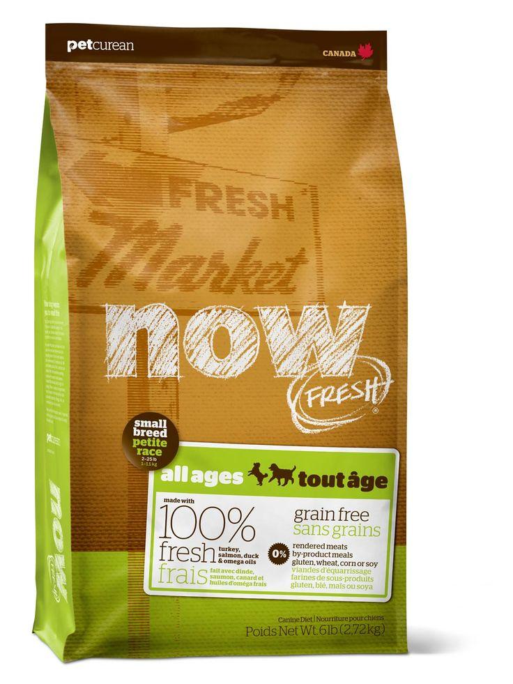 Small Breed Dog Food   Petcurean NOW No Grain Dog Food