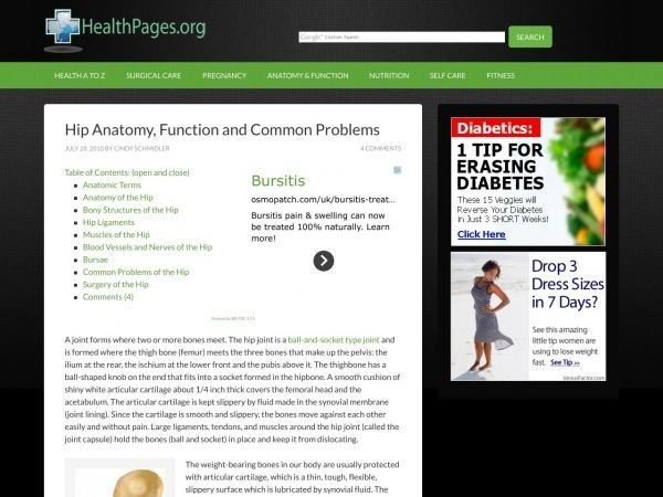 HealthPages.org   Health Information You Can Use