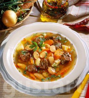Receptek Lajos Mari konyhájából - Babos gulyásleves