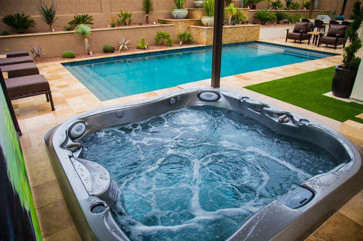 316 best spas jacuzzi en ext rieur images on pinterest. Black Bedroom Furniture Sets. Home Design Ideas