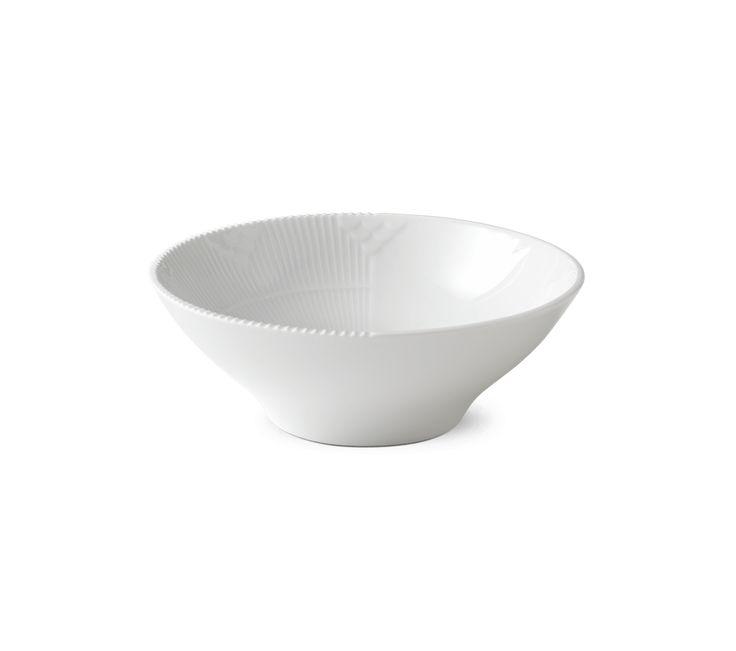 White Elements Bowl 18 cm