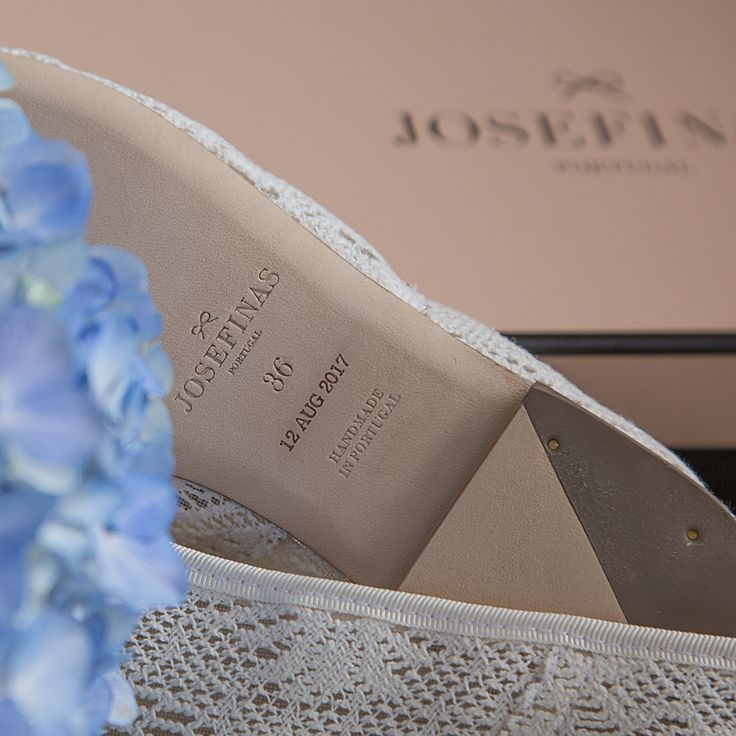 Your dream day, remembered forever. Find out how to make Josefinas ballet flats even more yours! #JosefinasPortugal