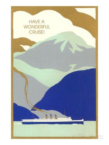 Art Deco Ocean Liner