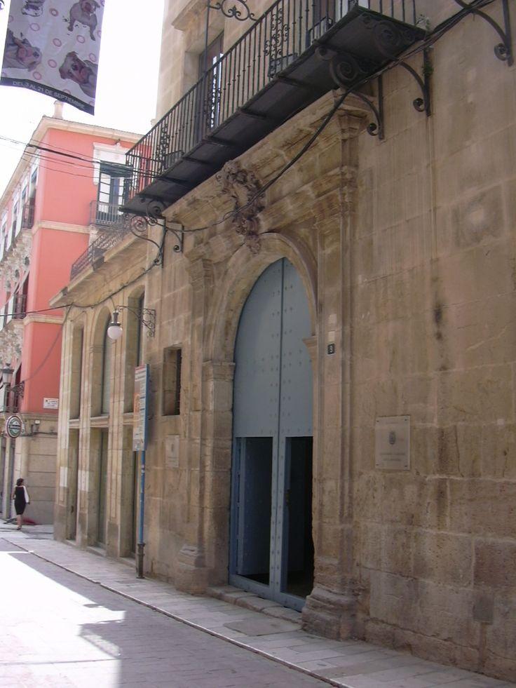 Palacio Maisonnave. Archivo Municipal | Ayuntamiento de #Alicante