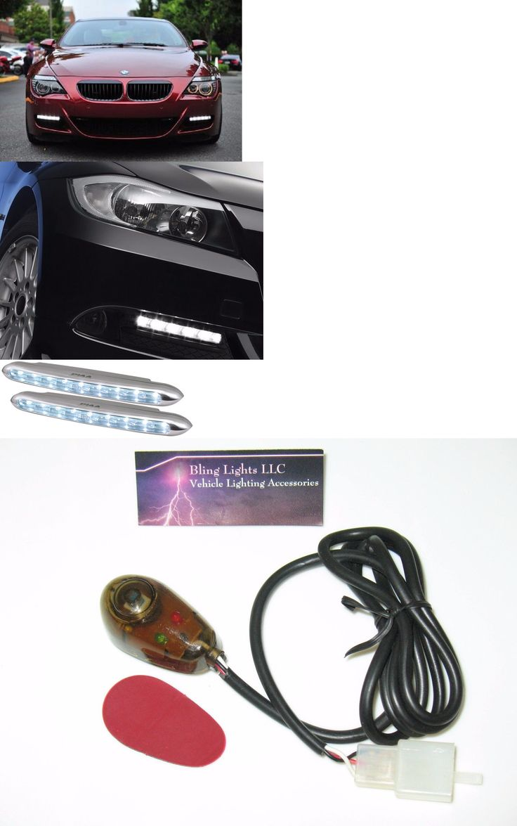 Motors Parts And Accessories: Piaa Deno6 5000K Led Daytime Running Light 2 Lamp Drl Kit For All Bmw Models BUY IT NOW ONLY: $99.99