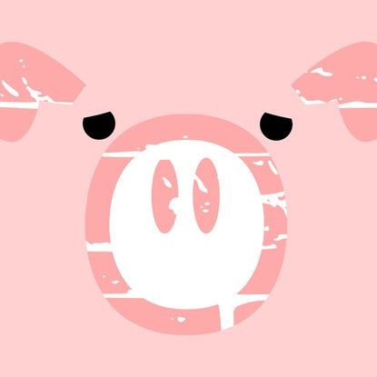 Piggy Wiggly Ice Cream Cake