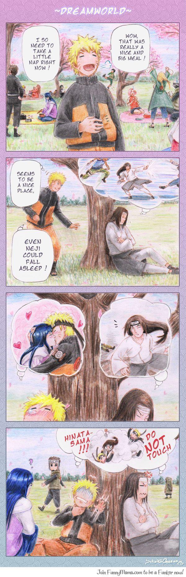 Naruto x Neji : Dream World