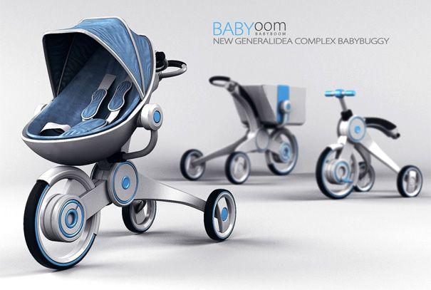 Pram, Stroller & Shopping Cart by Hadong Jung