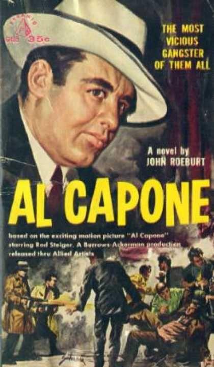 #AlCapone #mafia #crime #gangster great book, what the Rod Stieger film bio is about!